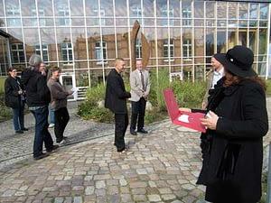 Bildhauersymposium in Wietow Solarzentrum