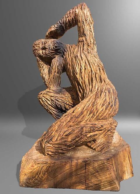 Kettensägearbeiten Holzskulpturen