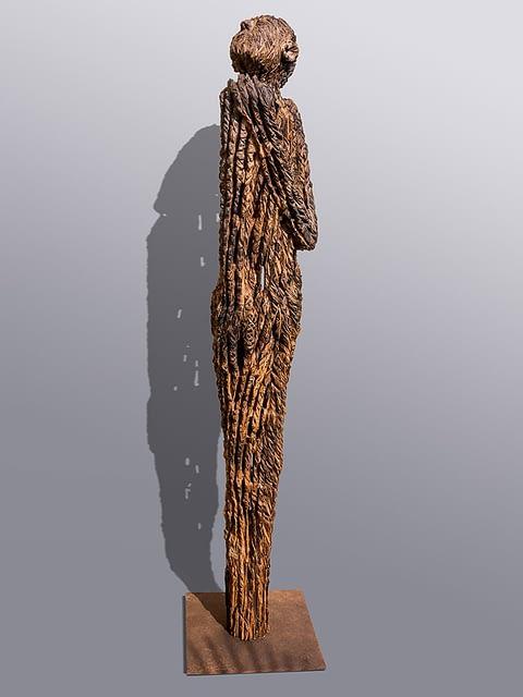 Holzskulptur Wächterskulpturen aus Holz