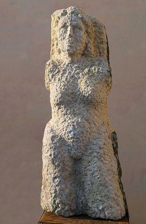 Steinskulptur aus Sandstein