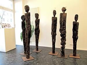• Ausstellungseröffnung Achtzig Galerie in Berlin