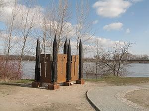 Skulptur Flüsse verbinden Matthias Trott