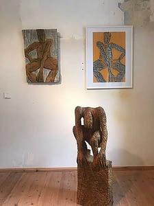 Ausstellung im Landarbeiterheim beim Kunstverein Die Brücke in Kleinmachnow