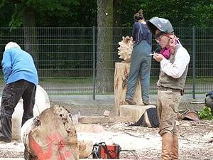Bildhauer Symposium in Forst 2013