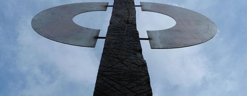 Kunst im Nationalpark Harnisch