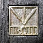 Bronzesignet Bildhauer Trott