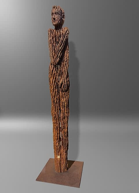 Skulpturen aus Holz mit der Kettensäge