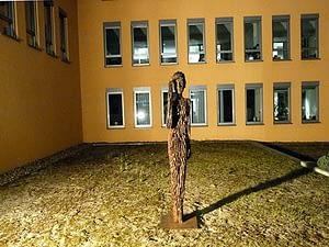 Holzskulptur Ausstellung EON/Avacon Salzwedel