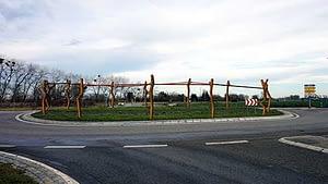 Entwurfsskizze-2 zum Kunst im Kreisverkehr in Schönebeck Ringheiligtum
