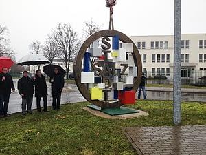 Kreisverkehr Skulptur SalzStadt