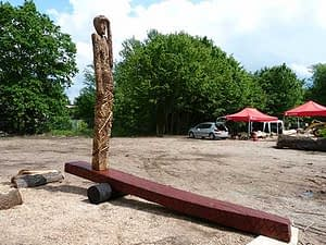 Fertigstellung der Skulptur